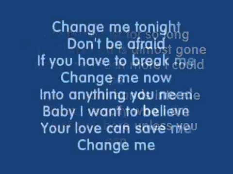Chris Cagle - Change Me (with lyrics) - HD