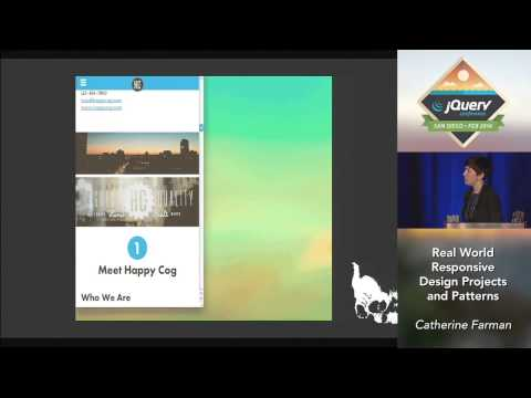 Real World Responsive Design Projects and Patterns - Catherine Farman