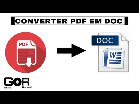 Converter pdf em doc/word(Mz)