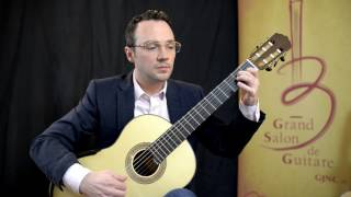 Drew Henderson performs Paganini on a Sylvia spruce solid top model
