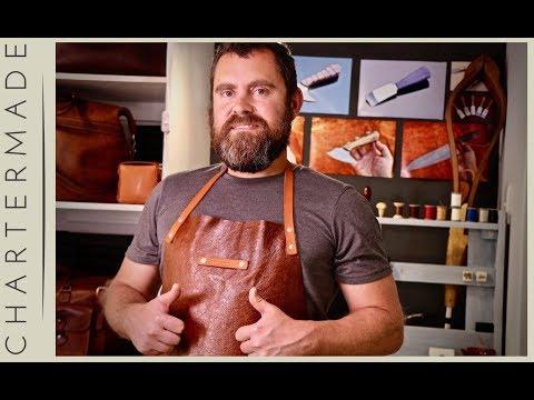 DIY Leather Apron - tutorial