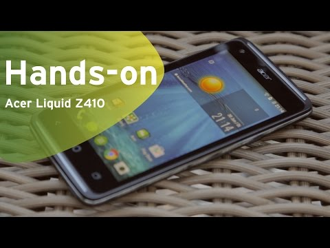 Acer Liquid Z410 hands-on (Dutch)
