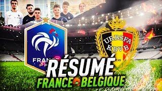 FIFA 18 - FRANCE vs BELGIQUE : PREMIER MATCH DE L'HISTOIRE DE l'EFOOT DE FRANCE