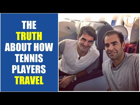 THE TRUTH ABOUT HOW TENNIS PLAYERS TRAVEL | How Do Tennis Players Travel?