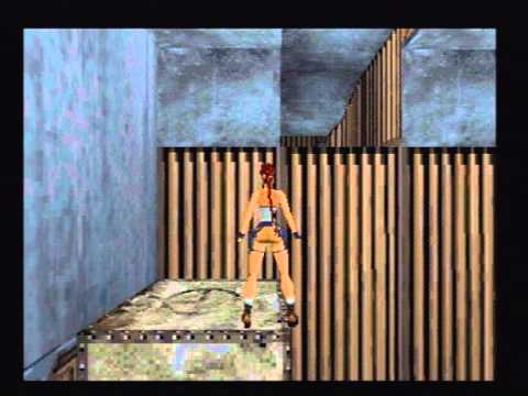 Tomb Raider 2 (PSX) #7 - Offshore Rig (French Version)