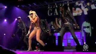Lady Gaga - Just Dance Live at The Dome 49 HD