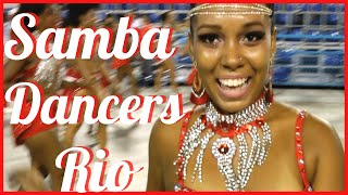FOOTWORK DANCE MOVES CLOSE UP: SAMBA DANCE STEPS LIVE 2016 RIO DE JANEIRO