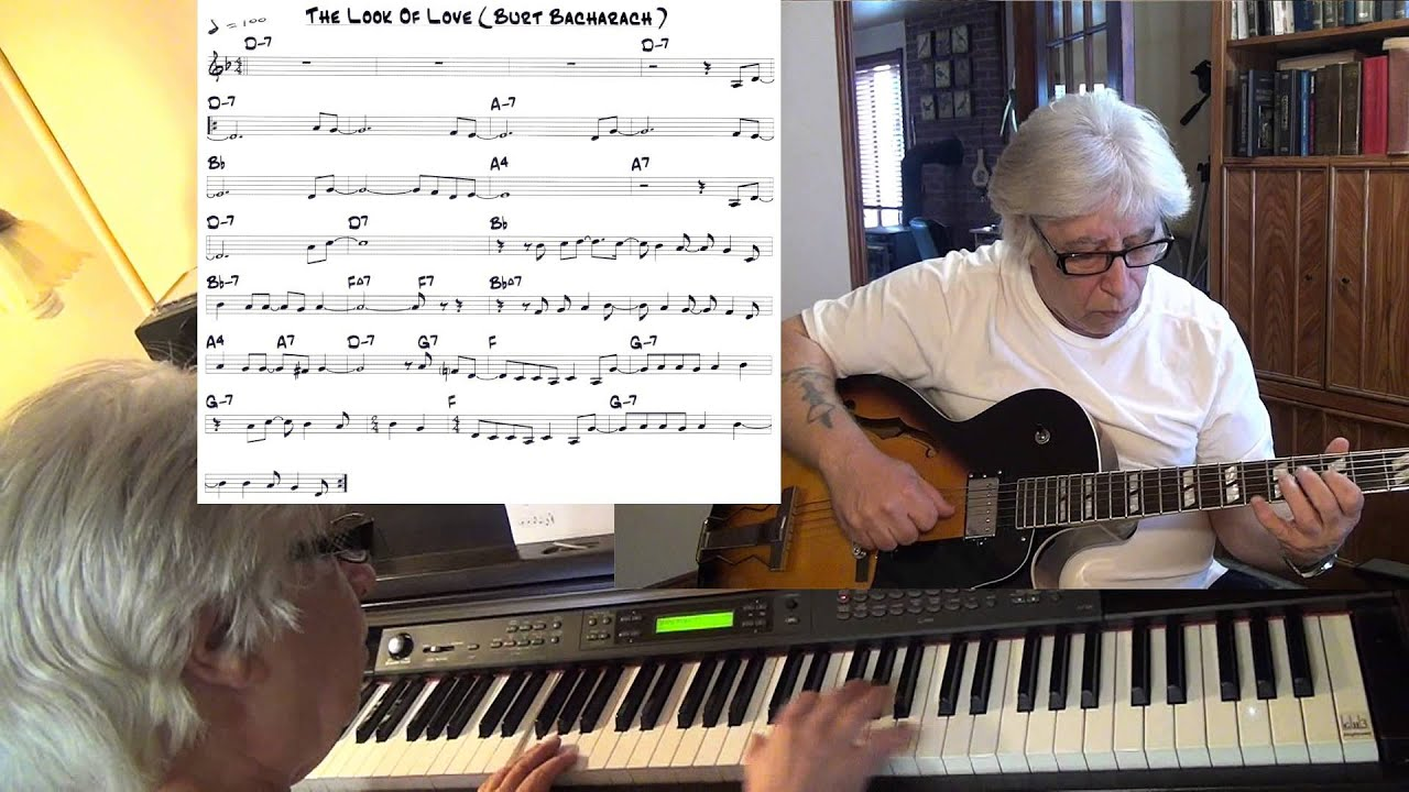 The Look Of Love Guitar Piano Jazz Funk Cover Yvan Jacques