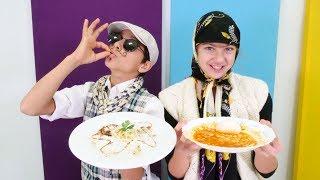 Pakize teyze ve İtalyan Emiro yemek yarışmasındalar!