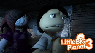 LittleBIGPlanet 3 - THE BLANK PAGE (Horror Film) - PS4