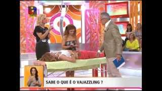 O que é o Vajazzling? Isabel Oliveira explica tudo na TVI!