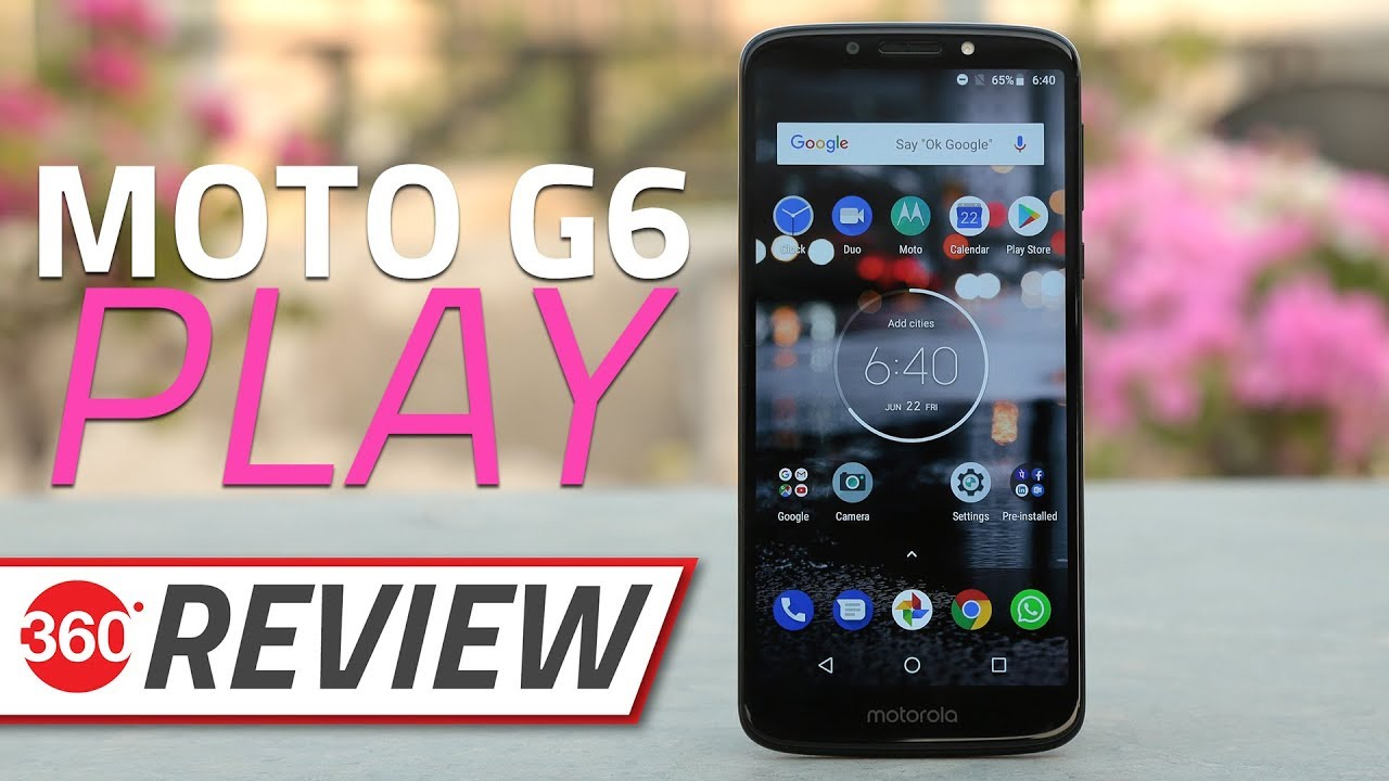 Moto G6 Play Review   Battery, Camera, and Performance Tested and Rated