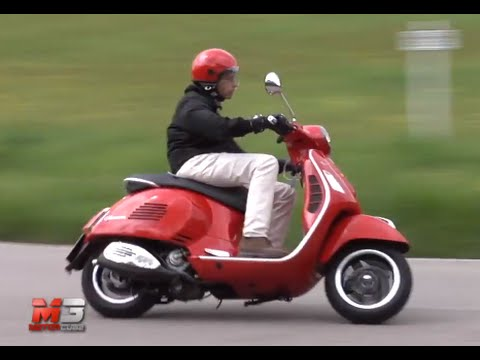 new vespa gts 300 super 2015 first test youtube. Black Bedroom Furniture Sets. Home Design Ideas