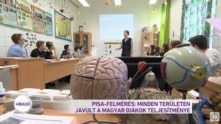 PISA-Felmérés: minden területen javult a magyar diákok teljesítménye