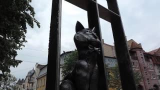 Зеленоградск Cranz Памятник Зеленоградским котам  Калининградская область