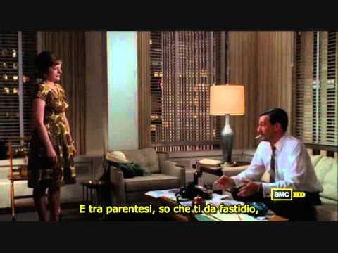 Mad Men 4x07 - Don Draper & Peggy Olson