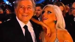 GRAMMY 2015 Lady Gaga's reaction to AC/DC performance
