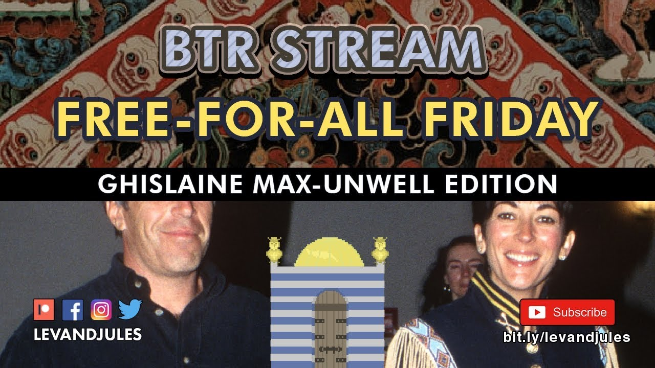 Free-For-All Friday  - Ghislaine Max-Unwell Edition