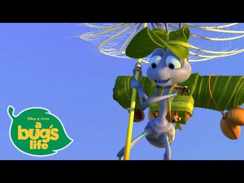 Flik Takes Flight 😎  | A Bugs Life | Disney Channel UK