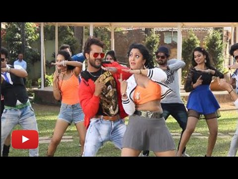 Bhojpuri Movie 'Aatankwadi' New Song On Location | Khesari Lal, Shubhi Sharma