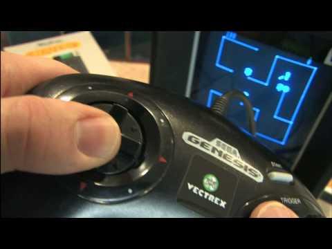 Classic Game Room - SEGA GENESIS VECTREX CONTROLLER review