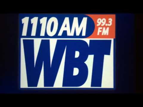 """WBT: """"News Talk 1110 WBT"""" Charlotte, NC 8pm ET TOTH ID--02/04/16"""