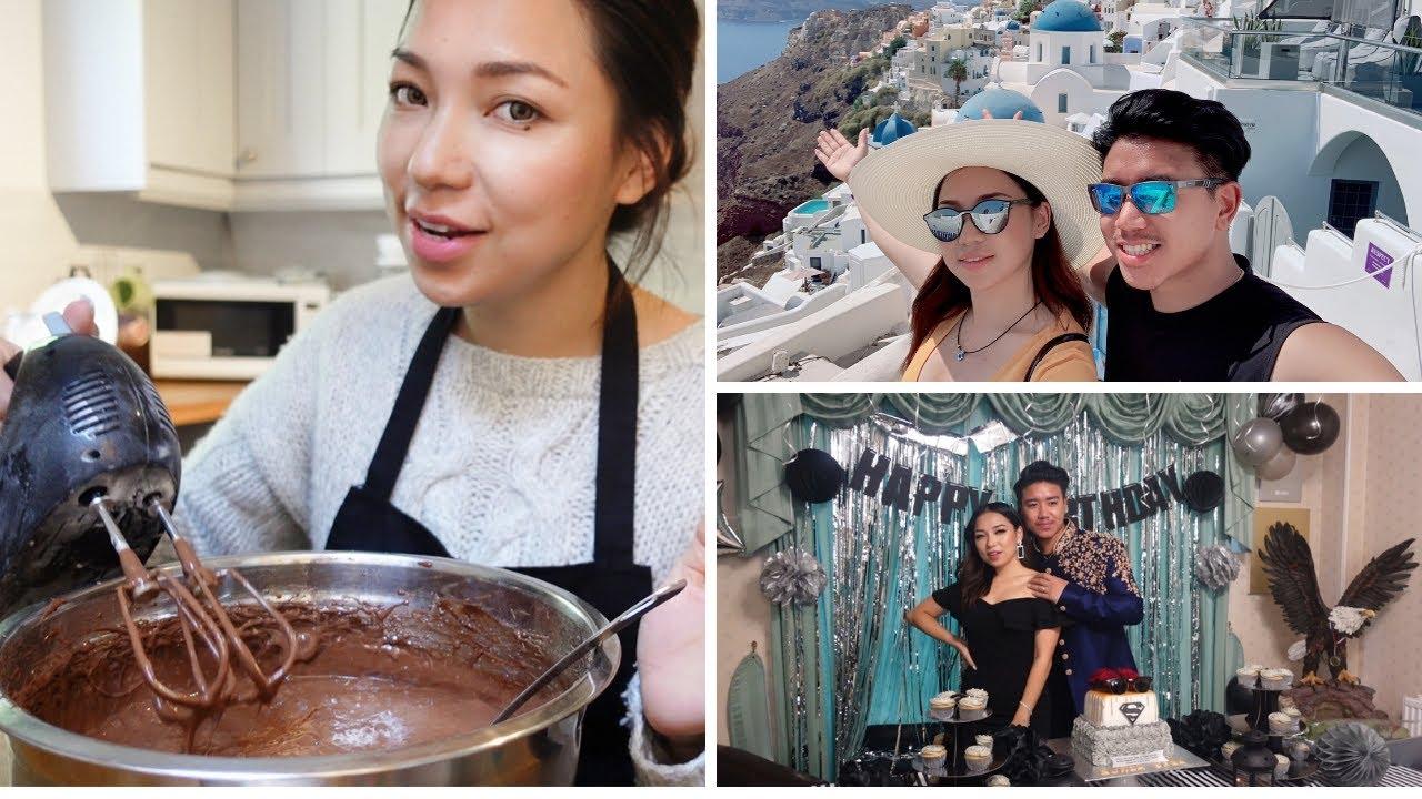 Baking Birthday Cake & Secretly Planning Surprise | GDiipa GSega