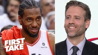 Max Kellerman gloats after Kawhi Leonard's historic buzzer-beater sinks the Philadelphia 76ers and calls him the best and most clutch player on Earth.