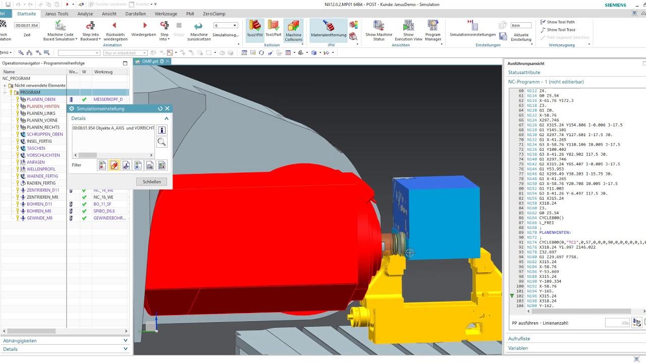 NX CAM | Janus Engineering