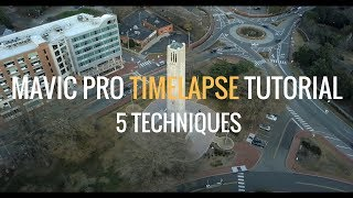 Mavic Pro - How to Shoot Time Lapse with your Mavic Pro