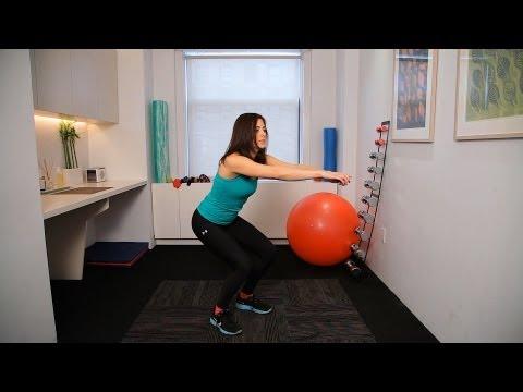 How to Do Partial Squats vs. Full Squats   Knee Exercises