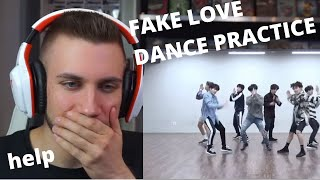 [CHOREOGRAPHY] BTS (방탄소년단) 'FAKE LOVE' Dance Practice - Reaction