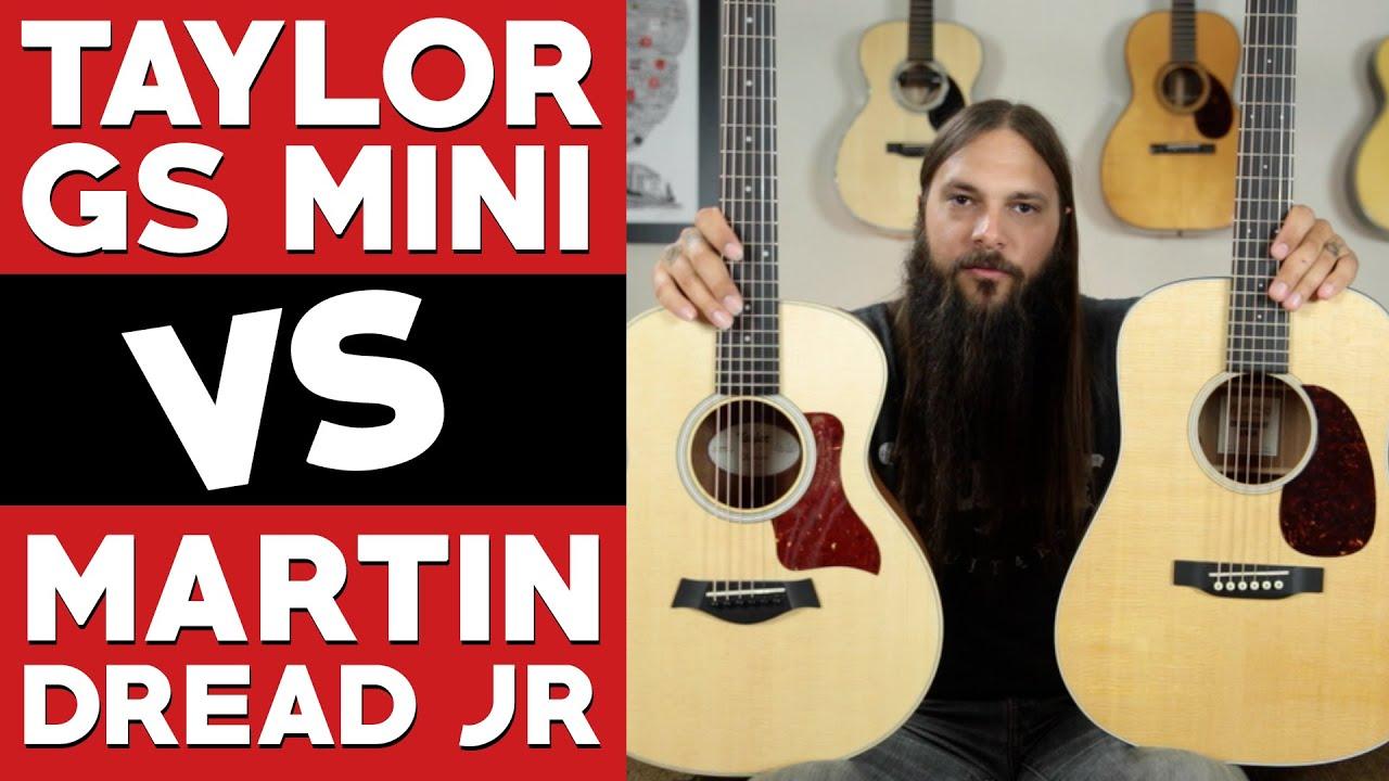 GS Mini VS Martin Dread Jr ★ ULTIMATE comparison - YouTube