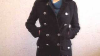 Alpha Industries Ladies Wool Long Pea Coat(, 2011-04-01T13:00:03.000Z)