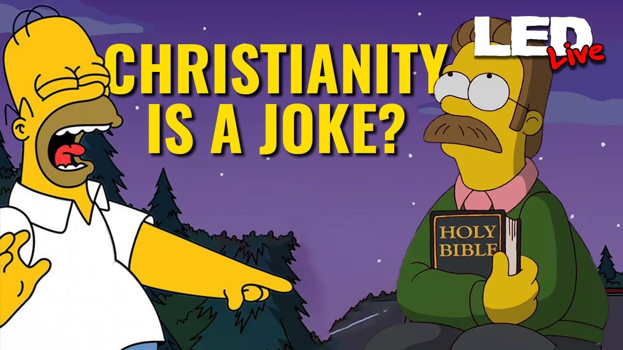 Is Christianity a Joke? Hollywood is Anti-Christ | LED Live