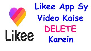 How to Delete video On Likee #Shorts screenshot 5
