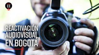 Vuelven los rodajes en espacios públicos: se reactiva el sector audiovisual en Bogotá