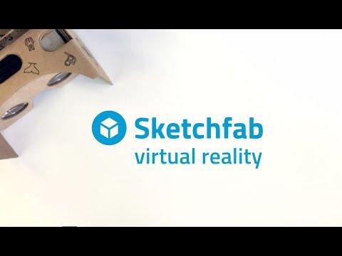 Sketchfab x VR Button