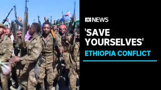 Ethiopia tells civilians to 'save yourselves' ahead of military assault on Tigray forces | ABC News