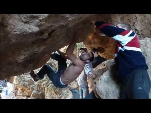 Navajas bouldering