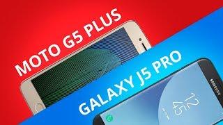 Moto G5 Plus vs Galaxy J5 Pro [Comparativo]