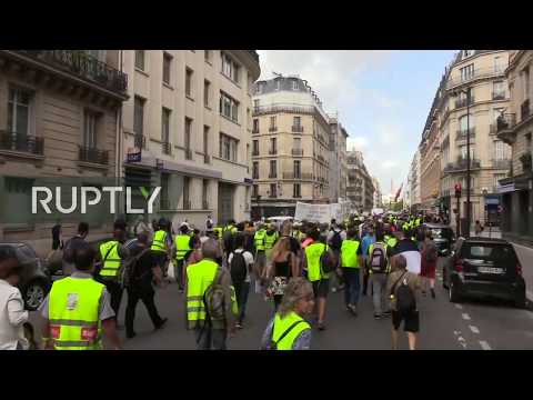 LIVE: Yellow Vests protest hits Paris for the 39th straight week