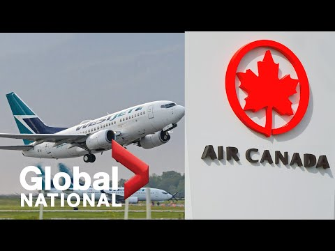 Global National: June 27, 2020 |2 Canadian Airlines Plan To Eliminate Physical Distancing On Flights
