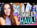 HUGE SUMMER CLOTHING HAUL! | Caitlin Bea