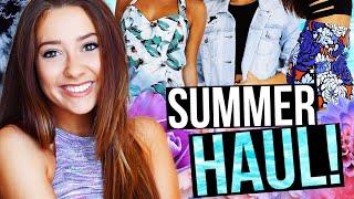 HUGE SUMMER CLOTHING HAUL! | Caitlin Bea