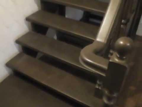 Деревянные лестницы купить в Санкт-Петербурге. Лестницы на второй этаж.