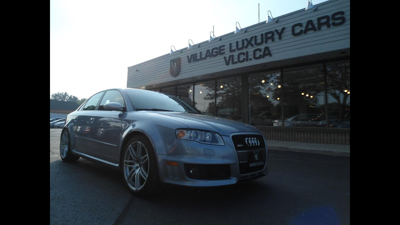 hight resolution of 2008 audi rs4 in review village luxury cars toronto