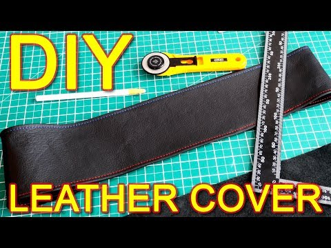 How To Make Steering Wheel Cover With Leather DIY