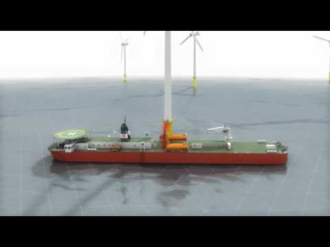 Houlder Offshore Windfarm Support Base Vessel