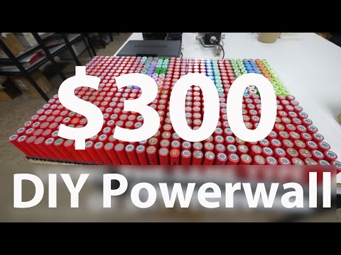 Make a DIY Powerwall just like TESLA for $300